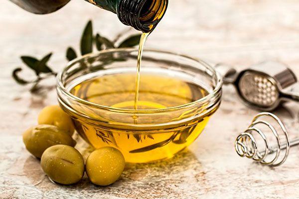 aceite de oliva para la piel