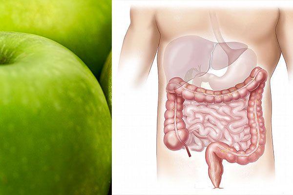 jugo de manzana para limpiar el colon