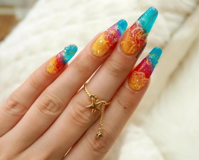 Uñas de Jalea Elegantes